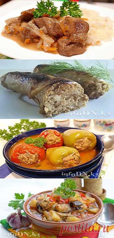 Вторые блюда в VESKA