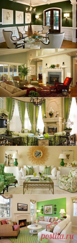 Las salas de estilo de diseñador — Nuestras casas