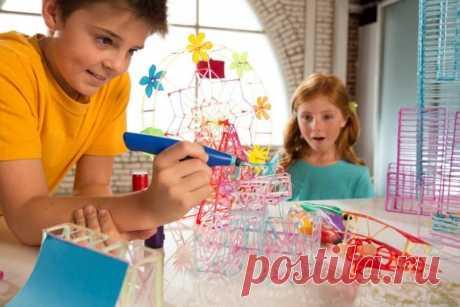 3D ручка - девайс, полезный для любого ребенка