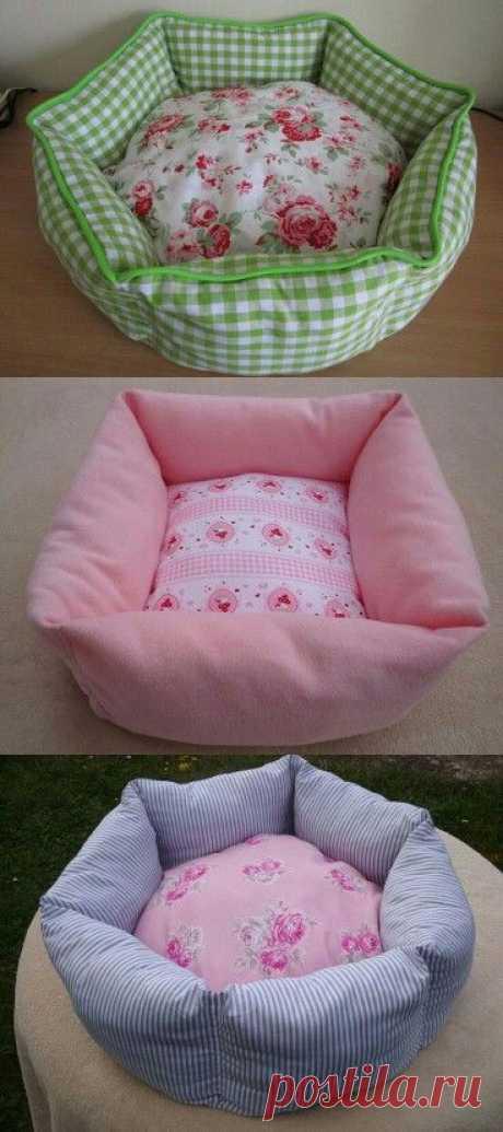 Кровать для собаки.