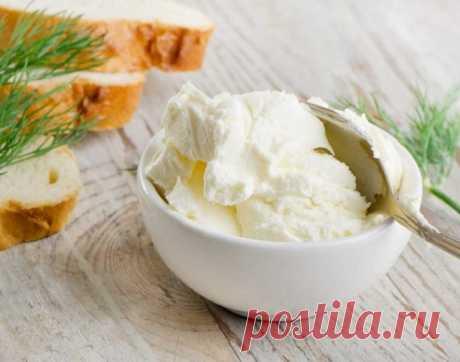 Домашний низкокалорийный сыр «Филадельфия»