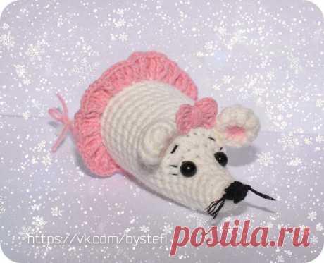 Мышка Арюня крючком | Схемы амигуруми