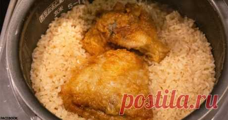 Кто-то выложил японский рецепт риса с курицей. В восторге миллионы людей!