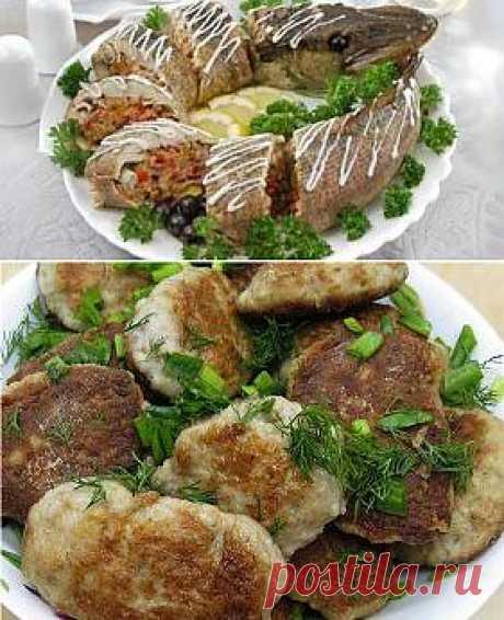 Блюда из щуки - Простые рецепты Овкусе.ру