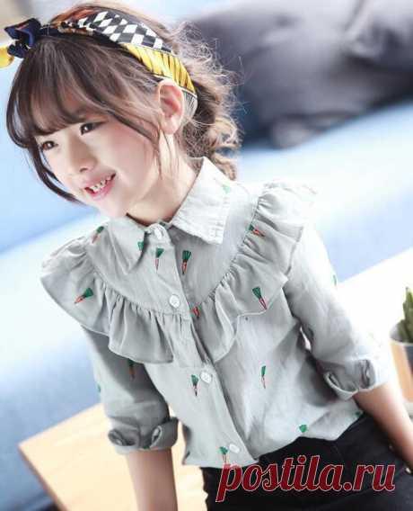 Блузка в школу (DiY)