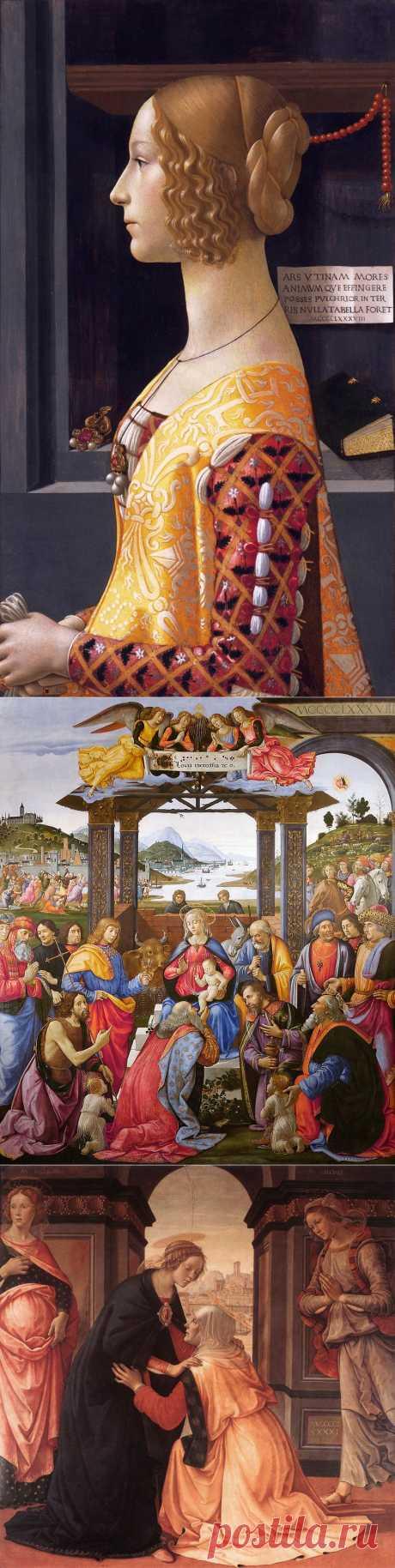 Флорентийский художник Доменико Гирландайо (1449 -1494)