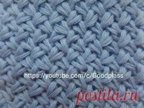 Pattern Small pletenka. Knitting by spokes. Knitting(Hobby)