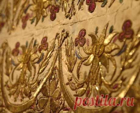 Золотое шитье...Самое дорогое рукоделие в мире. | Золотое рукоделие | Яндекс Дзен