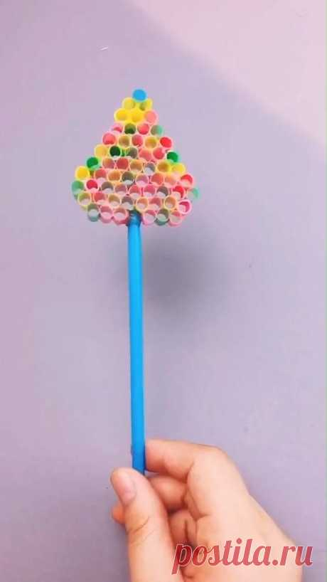 😍Sooo Fun. Follow me for more handmade tutorials. Why not show your work in the comment area? #Bubble craft #craft for kids