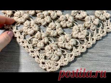 ЦВЕТЫ РОКОКО КРЮЧКОМ / HOW TO CROCHET ROCOCO FLOWERS STITCHES