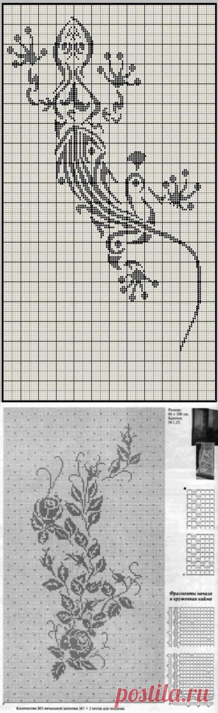 Схемы филе.Подборка из инета2.