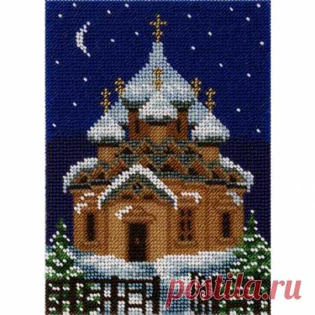 Набор для вышивания крестом и бисером Кларт 8-151 Храм