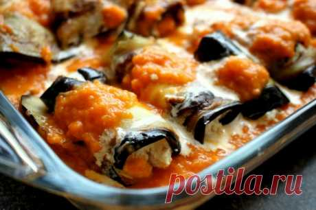 Итальянские инвольтини (рулетики) из баклажанов — Sloosh – кулинарные рецепты