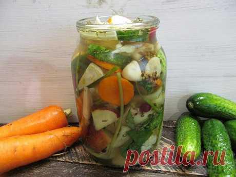 Маринованный овощной микс - Мой сад 🌿