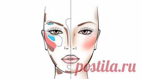 Изменив всего один элемент своего дневного макияжа, я стала визуально выглядеть моложе и свежее: коррекция лица по-новому | K O S M E T O S | Яндекс Дзен