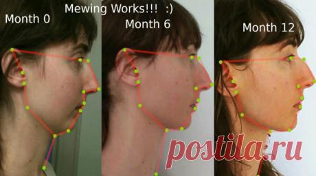 Как мьюнинг может подтянуть овал вашего лица?