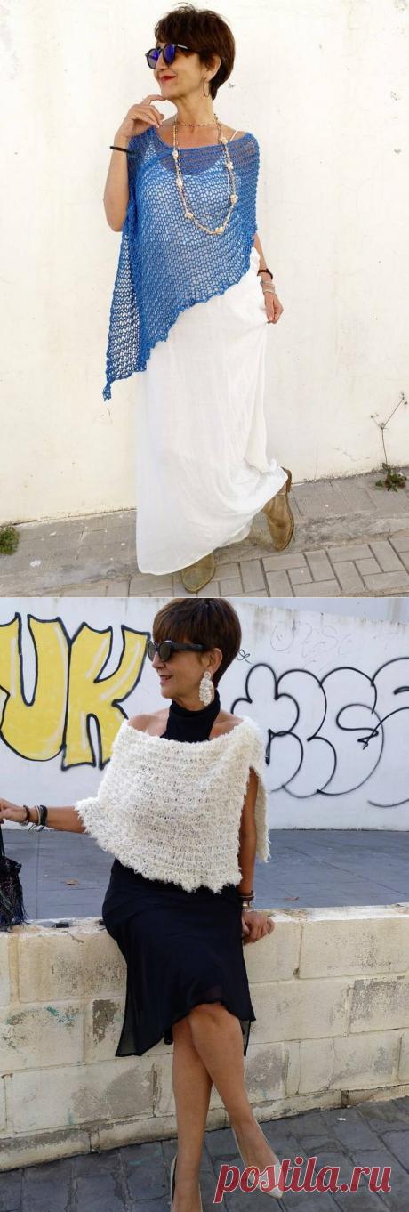 Что вяжет возрастная испанка, чтобы не только стильно выглядеть, но и заработать | До и после 50-ти | Яндекс Дзен