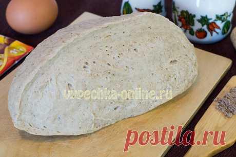 ✔️Дрожжевое тесто на сухих дрожжах с льняной мукой для пирогов, пирожков, булочек – рецепт с фото