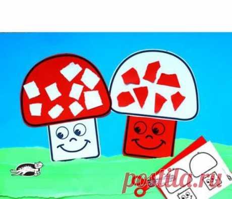 👌 Аппликации из цветной бумаги, увлечения и хобби С аппликациями каждый человек знакомится еще в детстве. Делать аппликации из цветной бумаги детей учат еще в младшей группе детского сада. Сначала малыши учатся наклеивать самые пр...