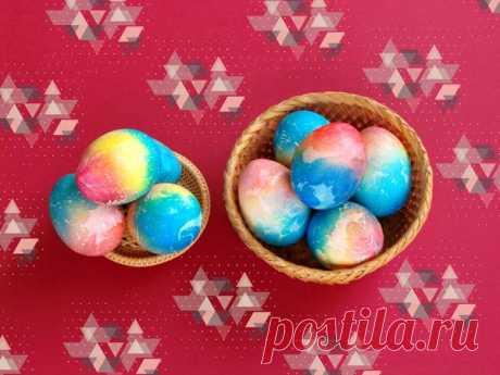 Красим яйца к Пасхе. | Nice things | Яндекс Дзен