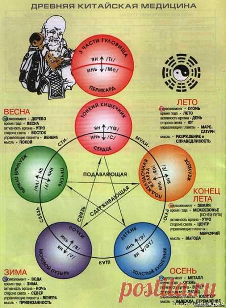 Точки здоровья (китайская медицина).