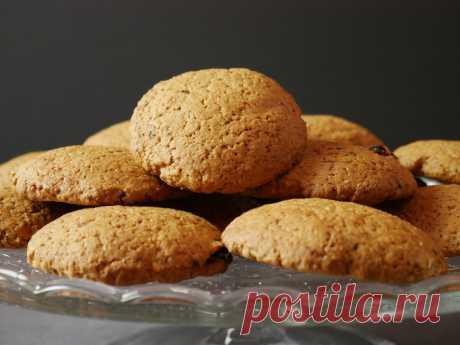 Как приготовить овсяное печенье за 20 минут