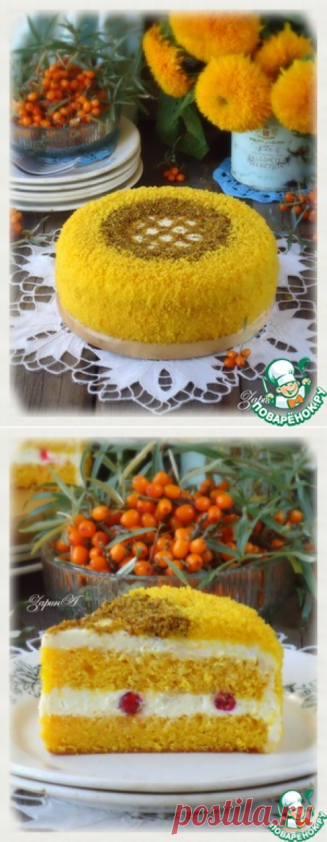"""Торт """"Осенний блюз"""" - кулинарный рецепт"""