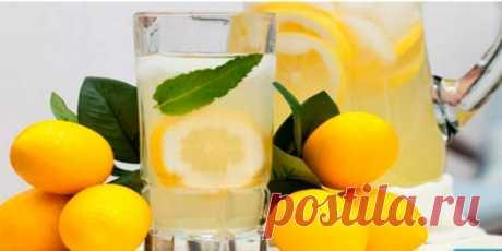 Если вы обнаружили у себя одну из этих 15 проблем, пейте лимонную воду вместо таблеток!