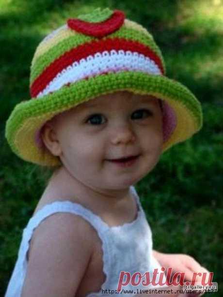 Подборка шапочек.. Много интересных моделей для детей.