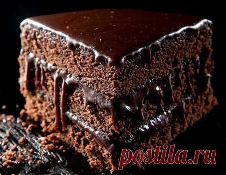 """Ромовый шоколадный торт """"Мокко"""""""