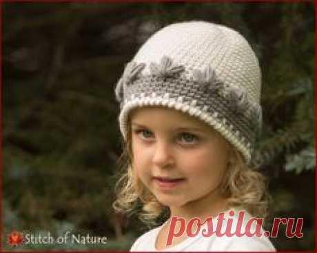 Crochet PATTERN - The Montrose Beanie Pattern, Girls Hat Pattern  (Baby to Adult sizes) - id: 16049
