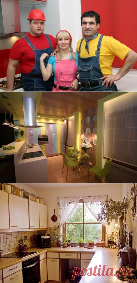 Школа ремонта: дизайн кухни гостиной в хрущевке
