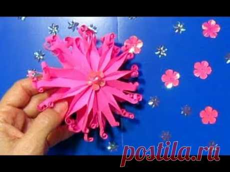 Как Сделать Подарок Маме Своими Руками на д.Рождение, д.Матери,8 марта Цветок из бумаги Поделки МК