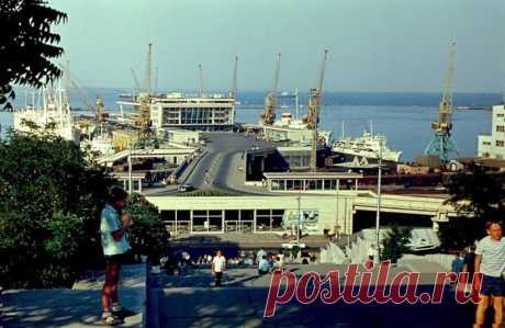 ФотоТелеграф » Жемчужина Черного моря: фотографии Одессы в 1969 году