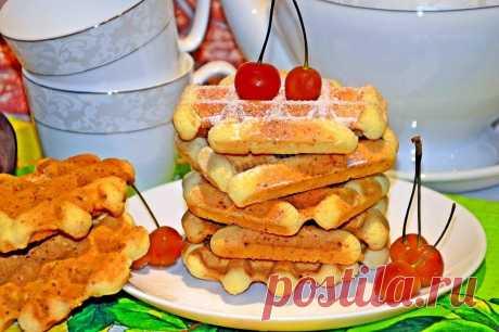 Творожные венские вафли и 15 похожих рецептов: фото, калорийность, отзывы - 1000.menu