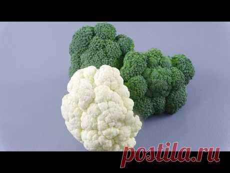 ВЫ ЭТОГО НЕ ЗНАЛИ!!! ТАК вы еще не готовили брокколи и цветную капусту - YouTube