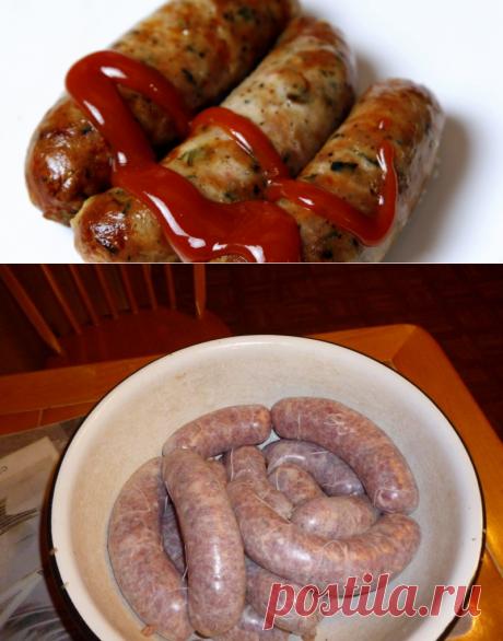 House sausages – 7 recipes