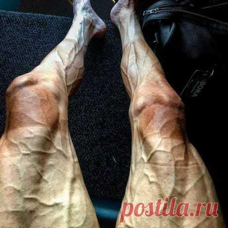 """Ноги польского велогонщика Павла Поляньского после 16-го этапа """"Тур де Франс"""""""