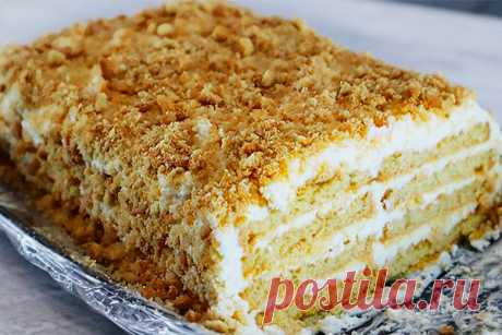 Вкуснейший торт с творожным кремом: быстро и просто без выпечки - Леди Зефирка