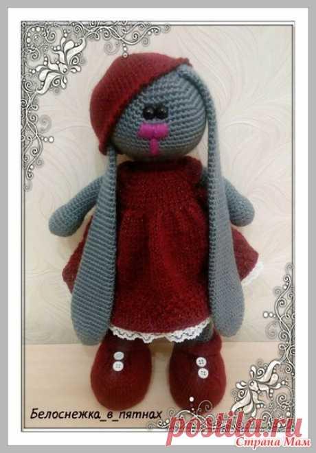 . Платье для Зайки в стиле тильда - Амигуруми - Страна Мам