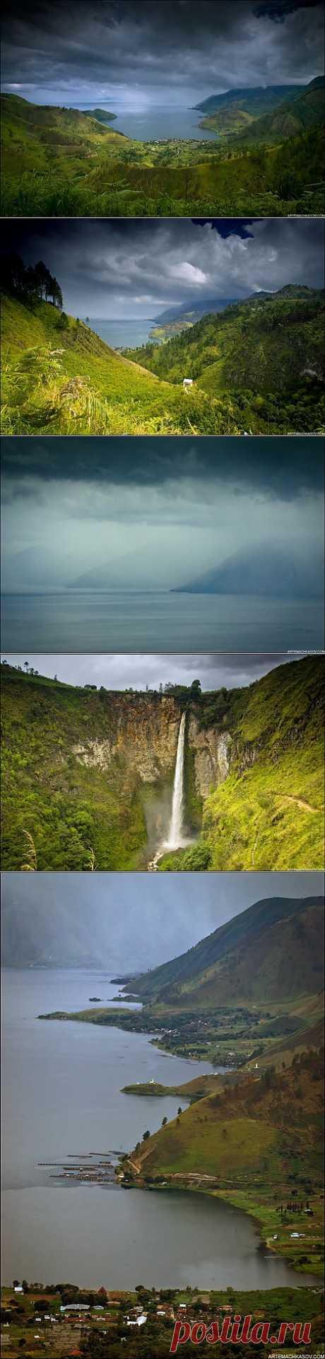 (+1) тема - Самое большое в мире вулканическое озеро | ТУРИЗМ И ОТДЫХ
