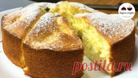 Нежный бисквитный пирог с персиками и киви - запись пользователя tastyminute (Оксана) в сообществе Болталка в категории Кулинария
