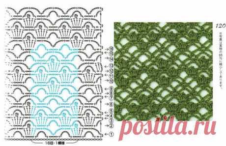 Several patterns hook, including multi-color