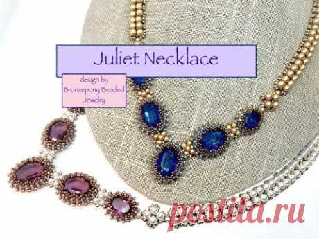 Crystal Juliet Necklace