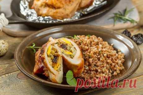 Свинина фаршированная грибами – пошаговый рецепт с фото.