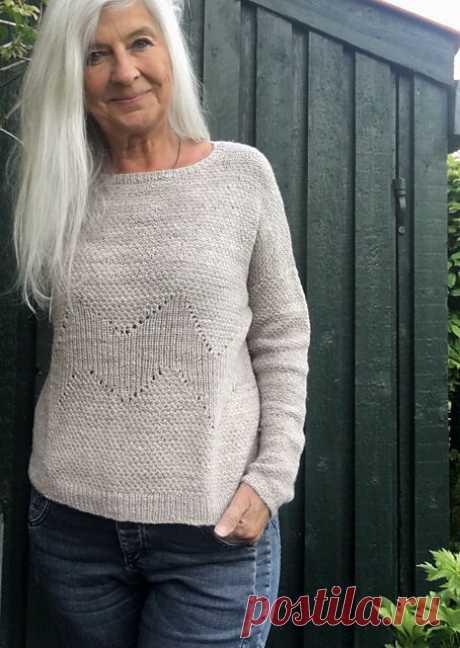 Легкий пуловер Sandfurer - Вяжи.ру