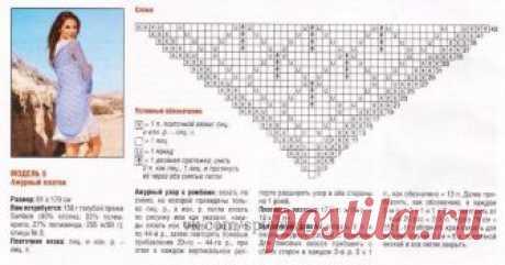 Подборка схем, для вязания шалей спицами — Сделай сам, идеи для творчества - DIY Ideas