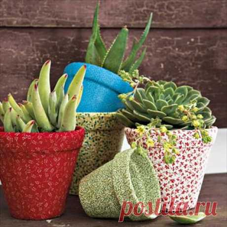 How to decorate flowerpots | EverydayMe Russia