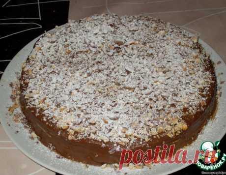 """Торт """"Крепвиль"""" – кулинарный рецепт"""