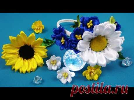 One way - three flowers/Una manera - tres flores/Один способ - три цветка.МК